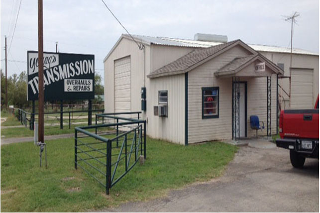 Youngs transmission amsoil in Mineral Wells