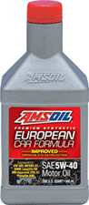 5W40 amsoil synthetic motor oil