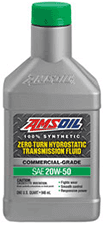 Amsoil 20W50 zero turn synthetic transmission fluid