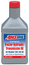 Tractor transmission hydraulic oil amsoil synthetic
