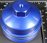 Ford power stroke bypass billet cap