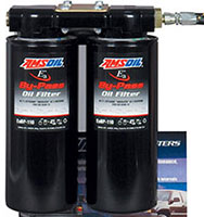 Dual filter bypass oil filter kit Amsoil