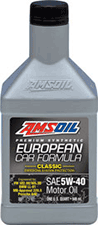 5W40 amsoil synthetic euro motor oil