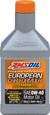 0W40 Amsoil synthetic motor oil