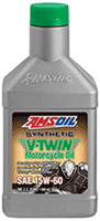 synthetic 15W50 motorcycle oil Indian Scout Amsoil