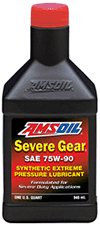 Amsoil Severe Gear 75w 90 >> AMSOIL Synthetic Gear Oil | AMSOIL Synthetic Gear Oil in Easy Packs