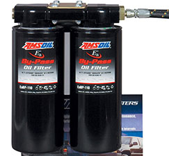 oil filter kit amsoil bypass dual remote