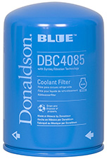 coolant filters donaldson blue