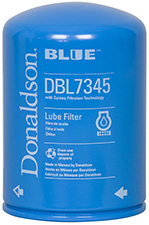 donaldson blue lube oil filters