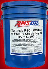amsoil synthetic R&O AW gear bearing oil